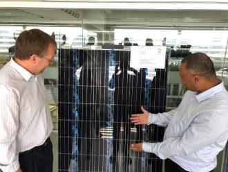 Loser Chemie GmbH - Recycling von gebrauchten Solarmodulen PV Circular Economy