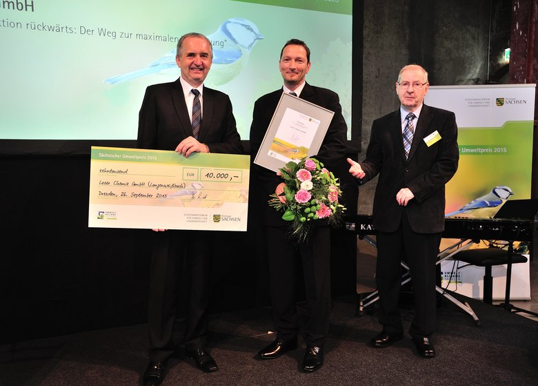 Loser Chemie GmbH - Gewinner des Sächsischen Umweltpreis 2015