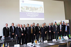 Loser Chemie auf dem 2. Umweltsymposium China in der Wismut GmbH in Chemnitz