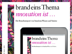 Loser Chemie als Innovator des Jahres 2019 des Magazins brand eins