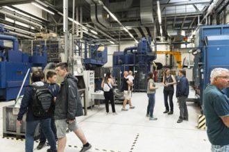 Loser Chemie bei der Langen Nacht der Wirtschaft und der Wissenschaften in Freiberg